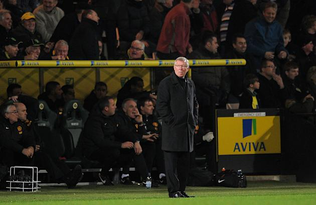 Sir Alex Ferguson praised Norwich after the Canaries beat Manchester United 1-0 at Carrow Road