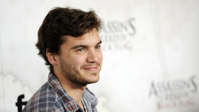 FILE - This Oct. 22, 2013 file photo shows actor Emile Hirsch poses at the Assassin's Creed IV Black Flag launch party at Greystone Manor in West Hollywood, Calif. Hirsch will play John Belushi in a biopic on the comedian. The production company Film 360 confirmed Monday the casting of Hirsch in the currently untitled independent feature. Production on the film is planned to begin in the spring. (Photo by Chris Pizzello/Invision/AP, File)