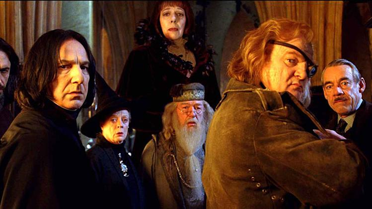 Harry Potter and the Goblet of Fire 2005 Warner Bros. Pictures Alan Rickman Brendan Gleeson Maggie Smith Roger lloyd Pack