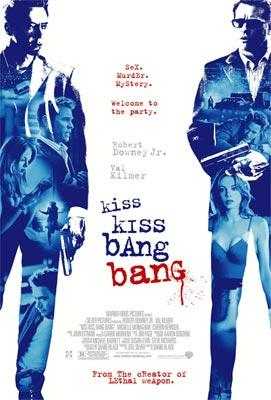 Robert Downey Jr. and Val Kilmer star in Warner Bros. Pictures' Kiss Kiss, Bang Bang