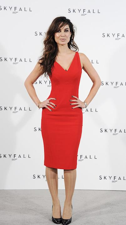Skyfall press conference 2011 Berenice Marlohe