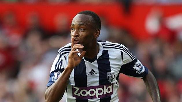 Saido Berahino has penned a new deal with West Brom (PA)