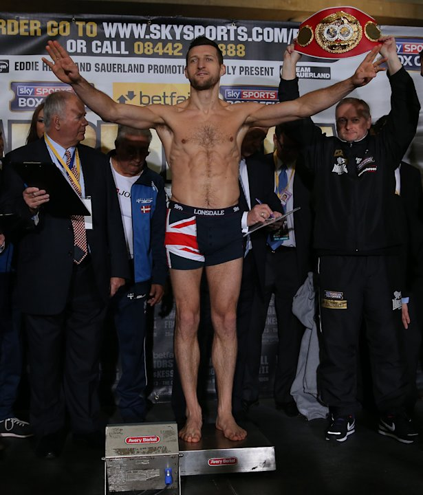 Boxing - IBF Super Middleweight Championship - Carl Froch v Mikkel Kessler - Weigh In - O2 Arena