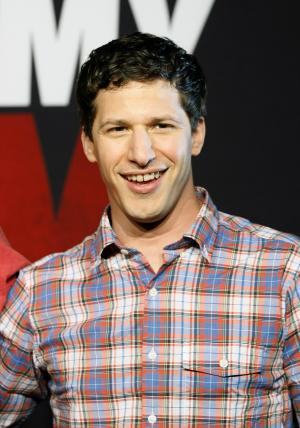 "FILE - This April 16, 2012 file photo, shows actor Andy Samberg promoting his film, ""That's My Boy"", at the Summer of Sony 4 Spring Edition photo call in Cancun, Mexico. Samberg's publicist says he is leaving ""Saturday Night Live.""  (AP Photo/Alexandre Meneghini, file)"