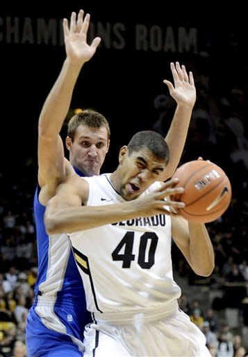 Scott leads Colorado past Air Force 89-74