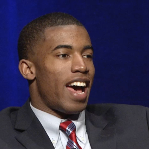 New Mexico's Kendall Spencer Speaks at NCAA Convention