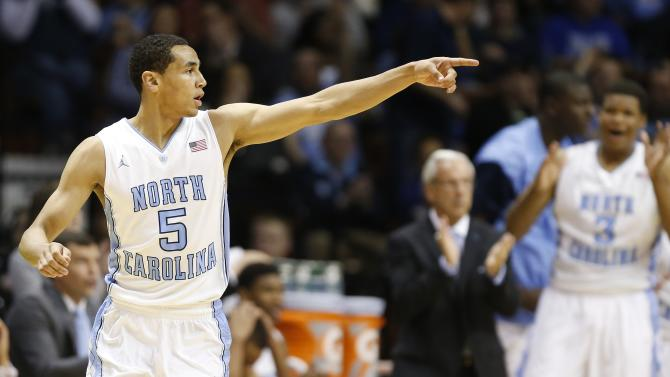 Paige leads UNC to 82-72 win over Richmond