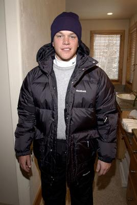 Matt Damon The Reebok Spa Sundance Film Festival 1/11/2002