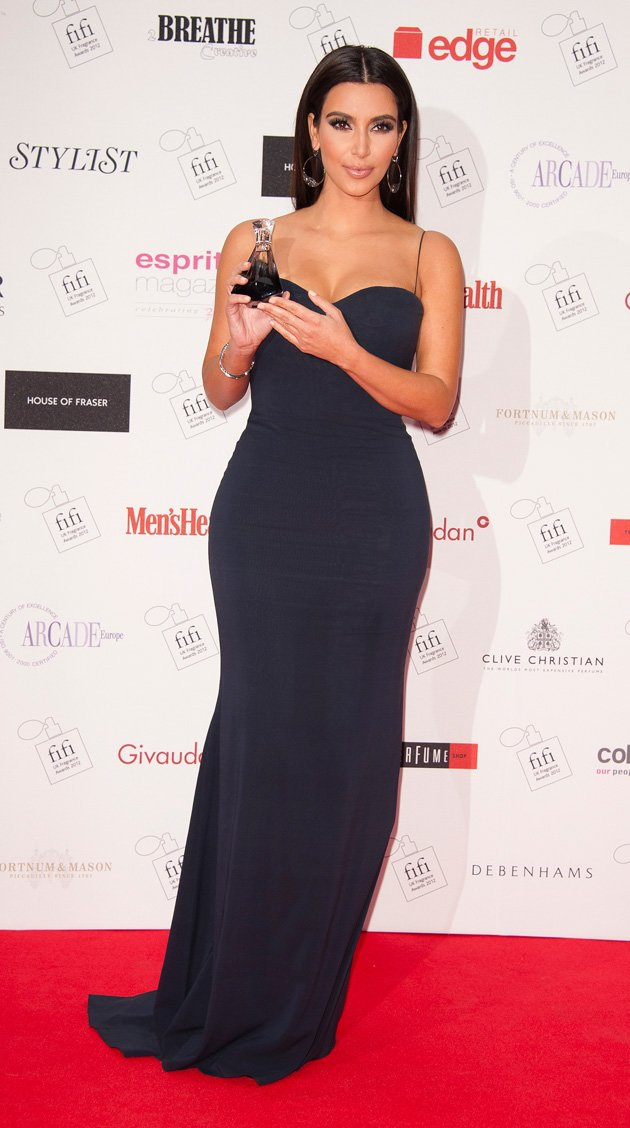 Kim Kardashian, True Reflection fragrance, Fifi Awards