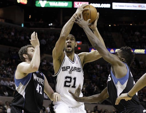 Spurs beat Wolves despite Parker's injury