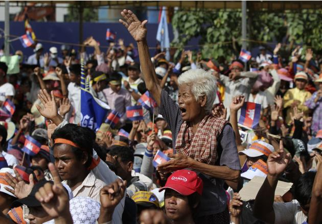 Protests in Cambodia