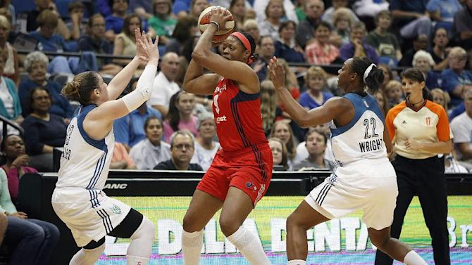Ajavon lifts Mystics to 79-75 win over Lynx