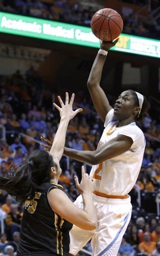 No. 9 Lady Vols rout cold-shooting Missouri 84-39