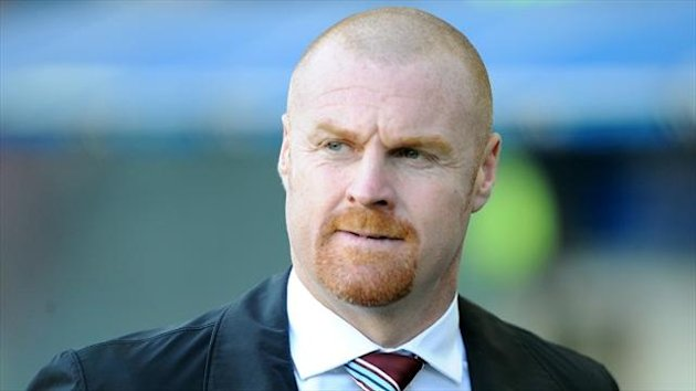 Sean Dyche has won the Championship Manager of the Month award for October