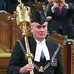 Canadian sergeant-at-arms gets standing ovation from Parliament