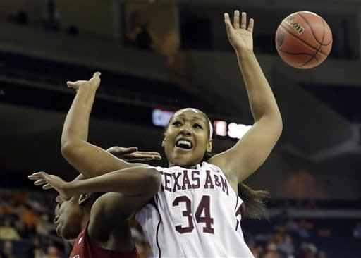 No. 19 Texas A&M women top No. 17 S Carolina 61-52