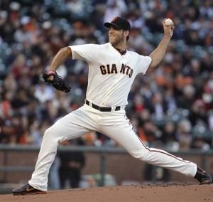 Belt, Bumgarner lead Giants win over Nationals