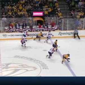 Cullen rips a shot over the blocker of Luongo