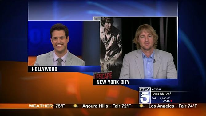 Owen Wilson on Trying to Surpass Lake Bell & Jackie Chan in `No Escape`
