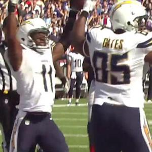 San Diego Chargers wide receiver Eddie Royal scores 2nd TD