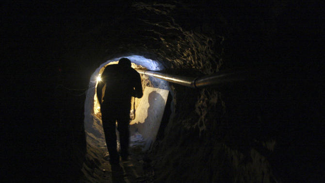 Smuggling tunnels