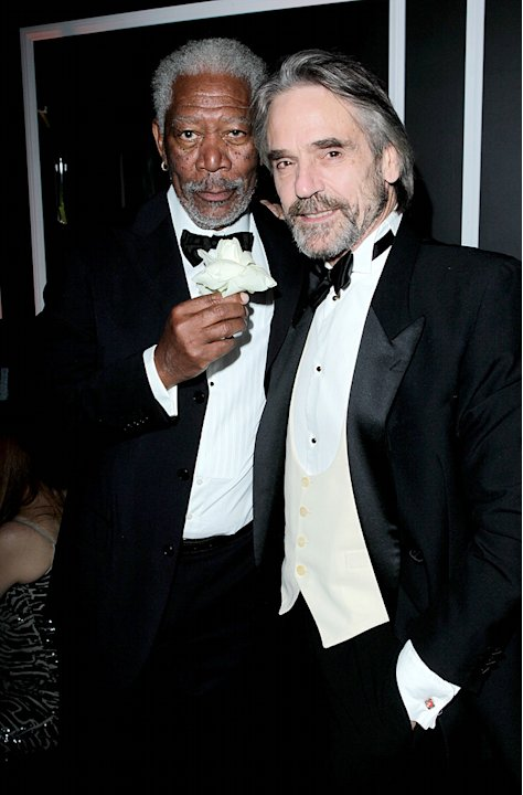 Morgan Freeman, Jeremy Irons