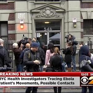 Health Officials Tracing Ebola Patient's Movements, Possible Contacts