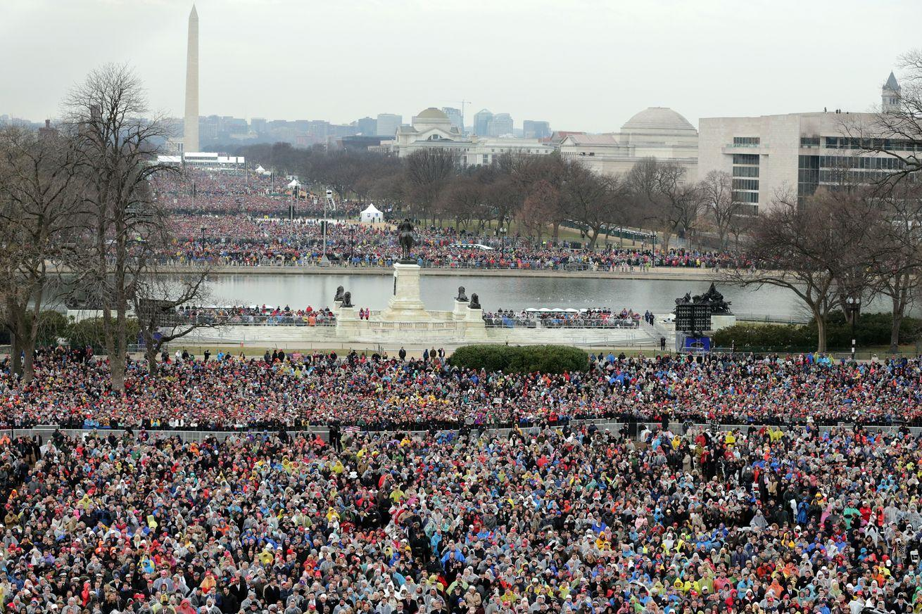 Trump claims 1.5 million people came to his inauguration. Here's what the evidence shows.