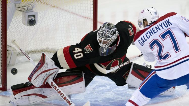 Senators topple Canadiens 4-1