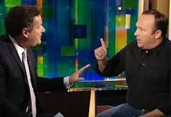 Piers Morgan and Alex Jones | Photo Credits: CNN