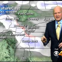 Saturday AM Forecast: Rain & Light Snow Possible Behind A Cold Front