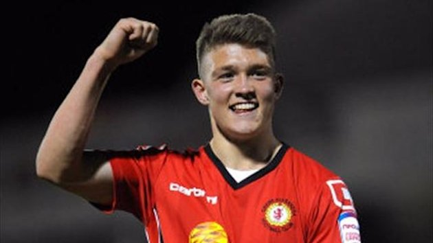 Max Clayton for Crewe (PA Sport)