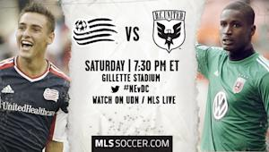 New England Revolution vs. D.C. United | MLS Match Preview