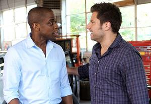 Dule Hill, James Roday  | Photo Credits: Alan Zenuk/USA Network