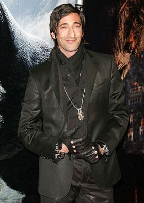 Adrien Brody at the New York premiere of Universal Pictures' King Kong