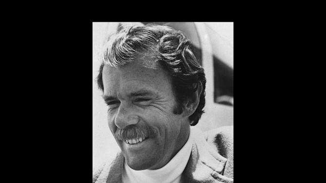 "FILE - This 1975 file photo shows Richard Bach. Bach, who is known for his 1970s best-selling novella ""Jonathan Livingston Seagull"" among other spiritually oriented writings, was in serious condition Saturday, Sept. 1, 2012,  after his small plane crashed in Washington state on Friday.  His son James Bach told The Associated Press his father was on his way to visit a friend on San Juan Island in the north Puget Sound on Friday when his amphibian plane clipped a power line as it landed, sending the aircraft into a crash. (AP Photo/File)"