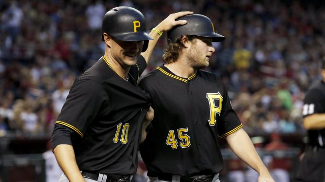 Gerrit Cole pitches Pirates to 4-1 win over Diamondbacks
