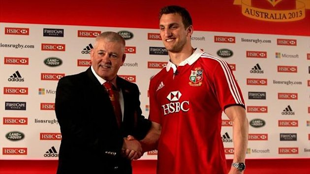Sam Warburton will captain the British and Irish Lions this summer