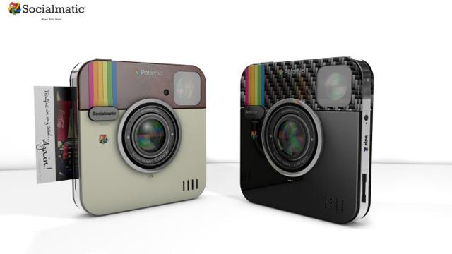 Socialmatic Polaroid Camera to Print Instagram-Style Pictures