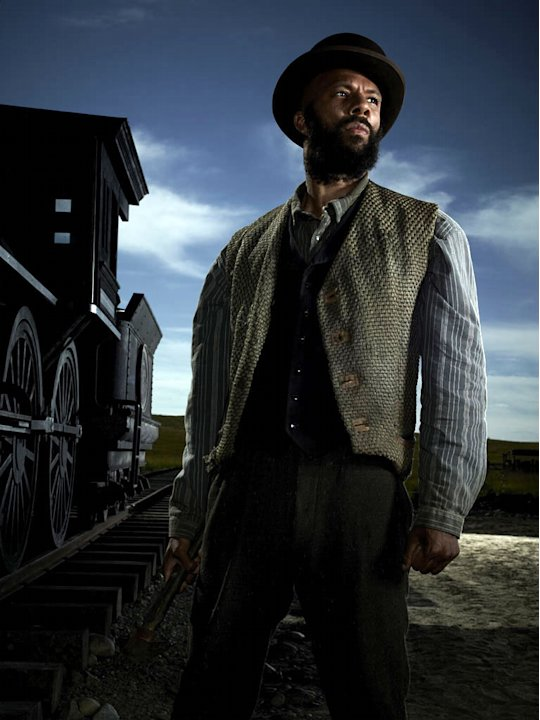 "Common stars as Elam Ferguson in ""Hell on Wheels."""