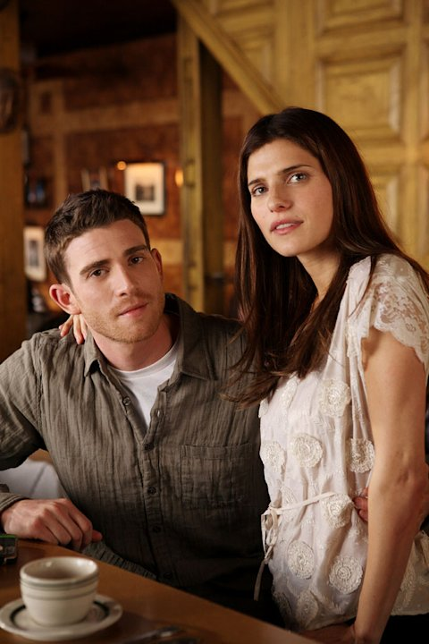 "Bryan Greenberg and Lake Bell in ""How To Make It In America."""