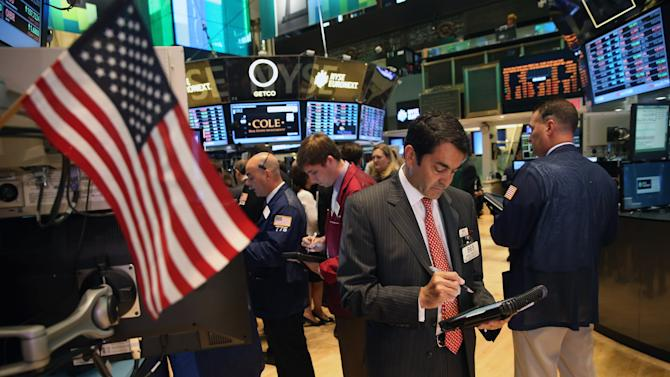 Stocks Open Lower On New York Stock Exchange
