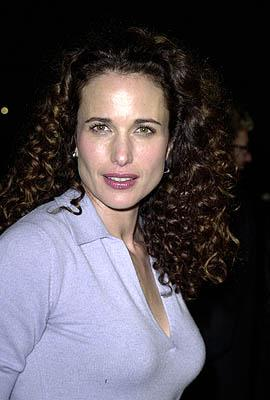 Andie MacDowell at the Beverly Hills premiere of USA Films' Traffic