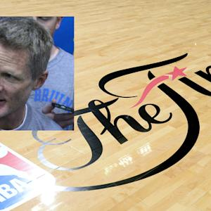 What was Steve Kerr's message to his team?