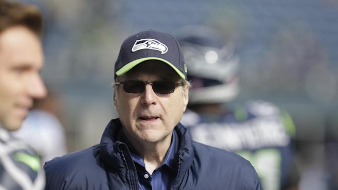 Seahawks owner Allen to fund brain injury research