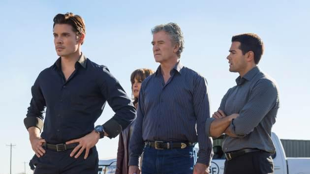 Josh Henderson, Patrick Duffy and Jesse Metcalfe in Season 2 of 'Dallas' -- TNT