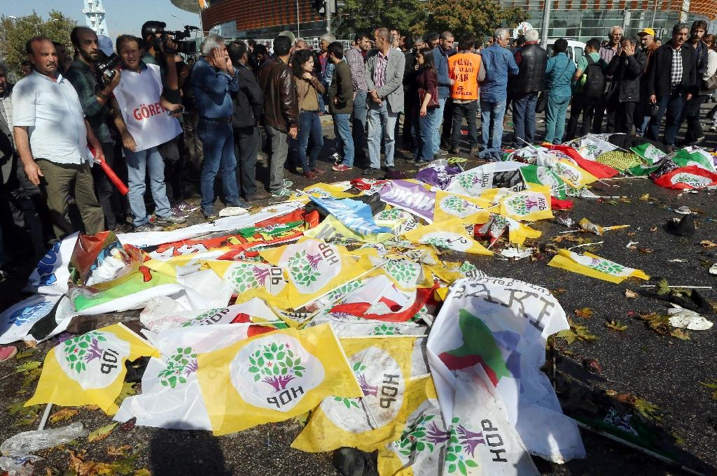 Corpses, desperation litter site of Ankara peace rally