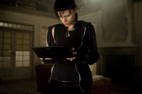 "A scene from ""The Girl With The Dragon Tattoo."""