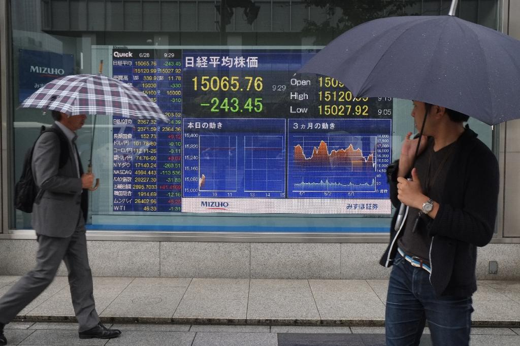 Asian stocks mostly climb on post-Brexit stimulus hopes