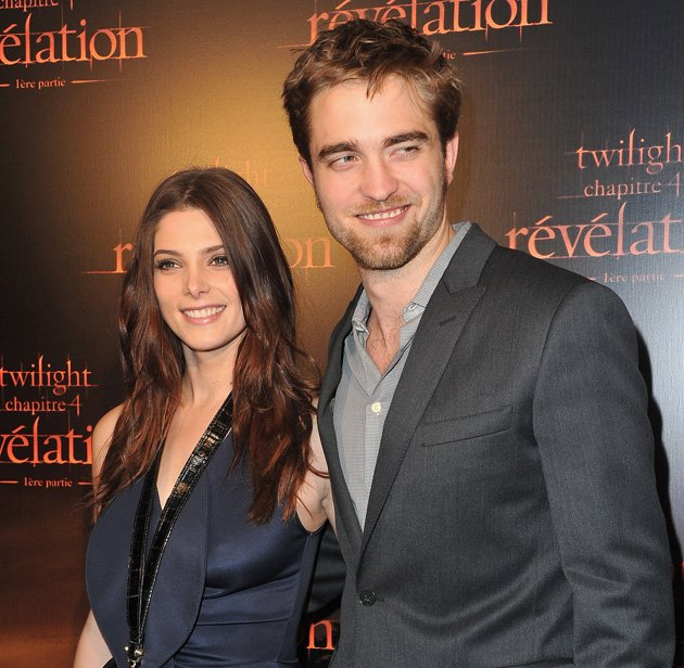 Ashley and Robert made French fans of the Twilight saga very happy this weekend.